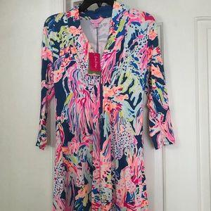 NWT Lilly Pulitzer Sunken Treasure Margate Dress